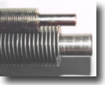 Welded Helical Solid Finned Tube